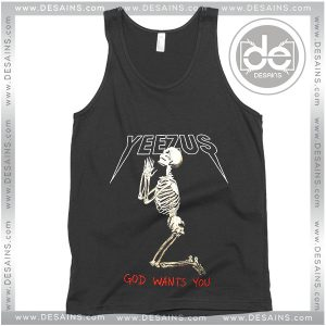 Buy Tank Top Yeezus God Wants You Custom Tank Top Womens and Mens