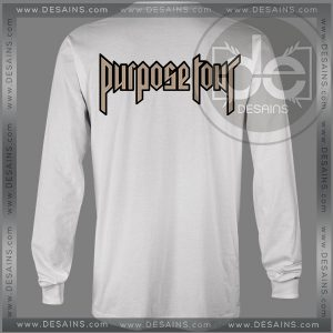 Buy Tshirt Long Sleeve Purpose Tour Justin Bieber Tshirt mens Tshirt womens