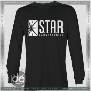 Buy Tshirt Long Sleeve Star Labs The Flash Tshirt mens Tshirt womens