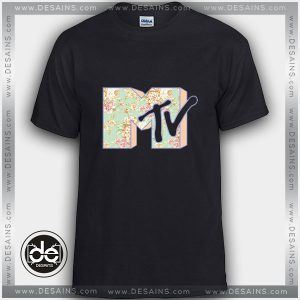 Buy Tshirt MTV Rose Flower Logo Tshirt mens Tshirt womens Tees size S-3XL