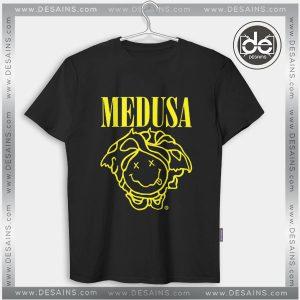 Buy Tshirt Medusa Nirvana Smiley Tshirt mens Tshirt womens Tees size S-3XL