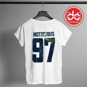 Buy Tshirt Notorious BIG Ninety Seven Tshirt mens Tshirt womens Size S-3XL