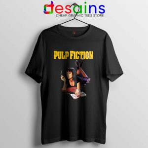 Tshirt Pulp Fiction Mia Poster Graphic Tees For Cheap