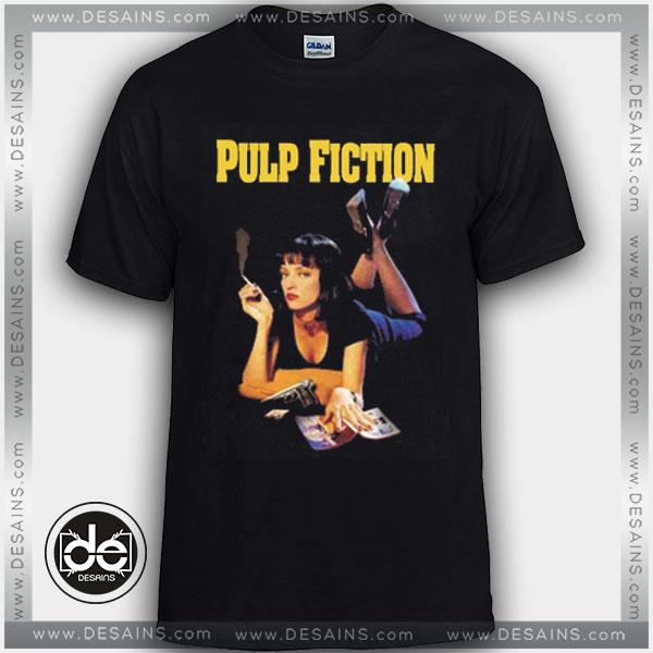 78cc3d4d Buy Tshirt Pulp Fiction Movie Poster Tshirt mens Tshirt womens Size S-3XL