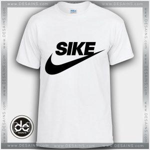Buy Tshirt Sike Just Do It Funny Logo Tshirt mens Tshirt womens Size S-3XL White