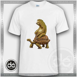 Buy Tshirt Sloth Turtle Funny Tshirt mens Tshirt womens Size S-3XL
