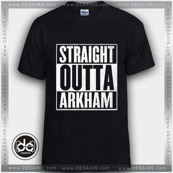 Tshirt Straight Outta Arkham Harley Quinn Tshirt mens Tshirt womens Size S-3XL