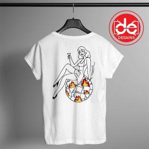 Buy Tshirt Back Urban Sexy Girl Custom Tshirt mens Tshirt womens