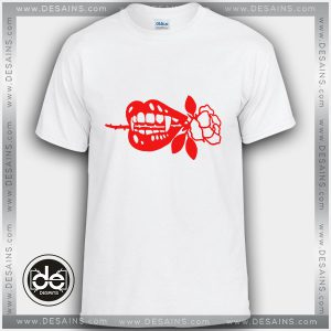 Buy Tshirt Vampire Fang Red Rose Custom Tshirt mens Tshirt womens
