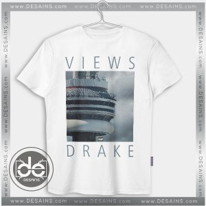 Buy Tshirt Views Drake album cover Custom Tshirt mens Tshirt womens