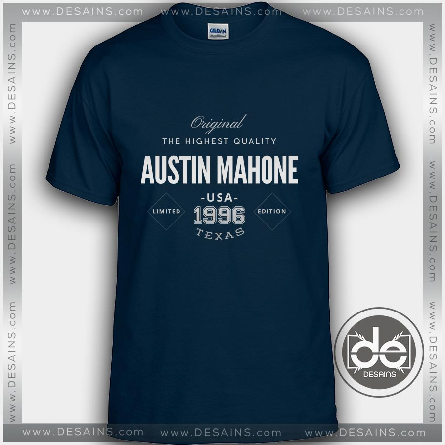 Buy tshirt austin mahone texas tshirt womens tshirt mens for Custom t shirts austin texas