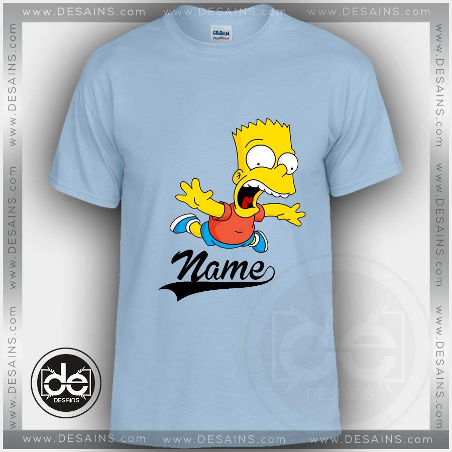 2b946e7fa0bf59 Buy Tshirt Bart Simpson Tshirt Kids and Adult Tshirt Custom
