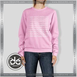 Buy Sweatshirt Hotline Bling Drake Sweater Womens and Sweater Mens