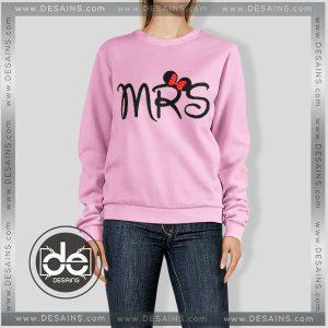 Buy Sweatshirt Mrs Disney Cute Sweater Womens and Sweater Mens