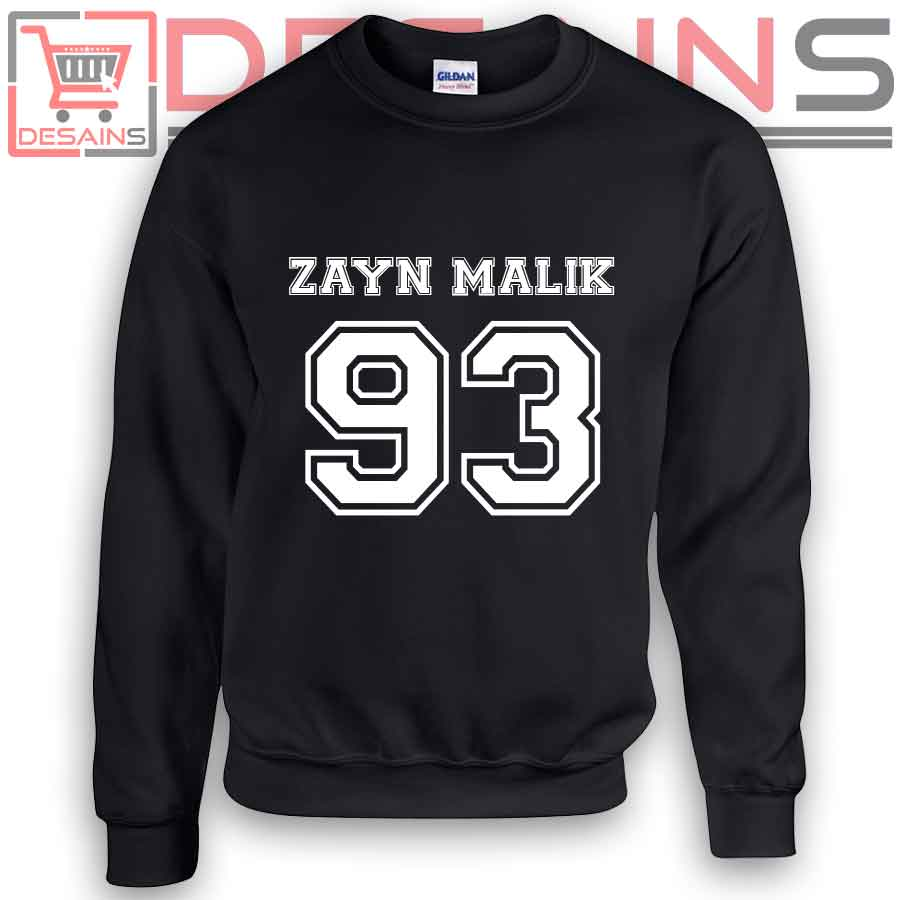 546d7833 Sweatshirt Zayn Malik 93 Birthday Sweater Womens and Sweater Mens