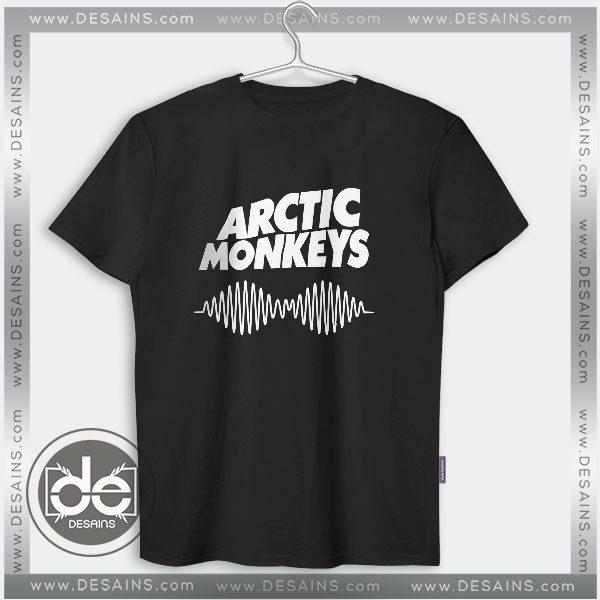 Buy Tshirt Arctic Monkeys AM Wave Tshirt Womens Tshirt Mens Tees Size S-3XL