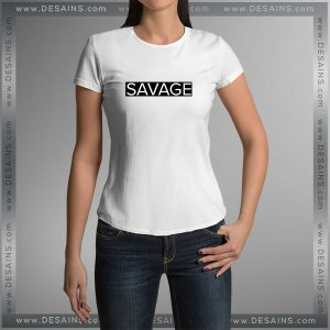 Buy Tshirt Savage Supreme Tshirt mens Tshirt womens Tees Size S-3XL