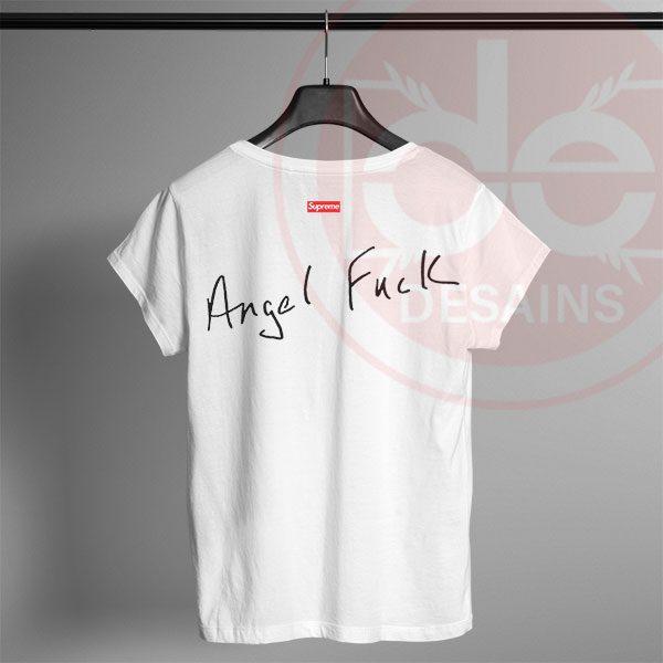 Tshirt Supreme Angel Fuck Tshirt mens Tshirt womens Tees Size S-3XL 98e27b635
