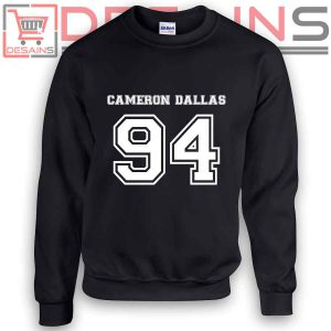 Buy Sweatshirt Cameron Dallas 94 Sweater Womens and Sweater Mens