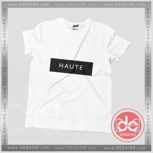 Buy Tshirt Haute Logo Tshirt mens Tshirt womens Tees Size S-3XL