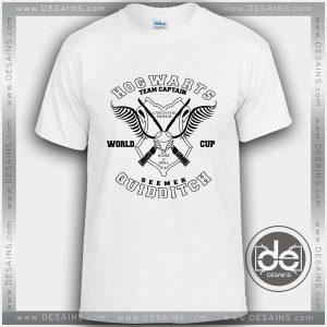 Buy Tshirt Hogwarts Quidditch Tshirt mens Tshirt womens Tees Size S-3XL