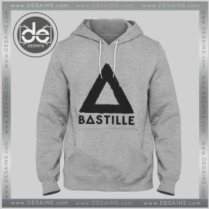 Hoodies Bastille Band Logo Hoodie Mens and Womens Adult Unisex