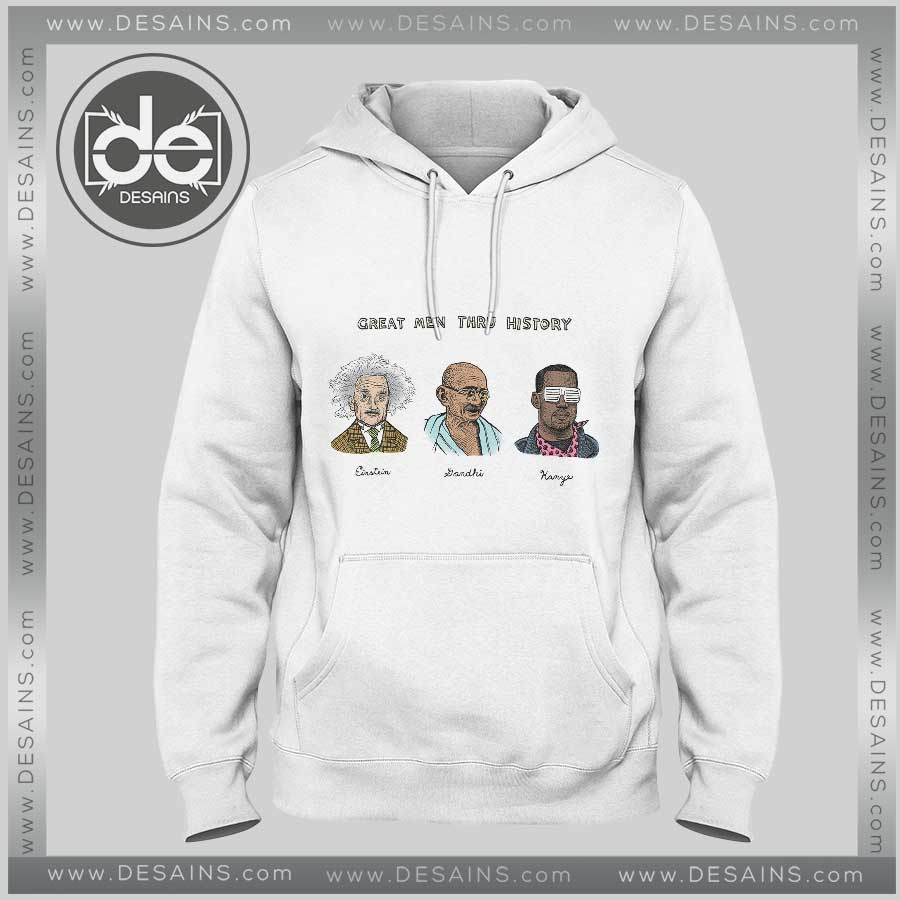 Hoodies Kanye West Great Men Hoodie Mens Hoodie Womens Adult