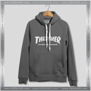 Hoodies Thrasher Skateboard Magazine Hoodie Mens Womens Adult