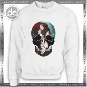 Sweatshirt Lana Del Rey Head Skull Sweater Womens and Sweater Mens