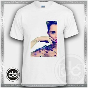 Buy Tshirt Miley Cyrus Flawless Tshirt mens Tshirt womens Tees Size S-3XL