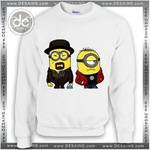 Sweatshirt Minions Breaking Bad Sweater Womens Sweater Mens