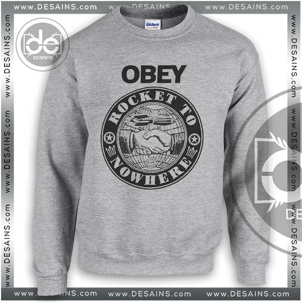 d7d05671180 Sweatshirt Obey Rocket To Nowhere Sweater Womens and Sweater Mens
