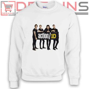 Sweatshirt One Direction Action 1D Sweater Womens and Sweater Mens