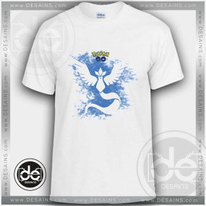 Buy Tshirt Pokemon Go Team Mystic Tshirt Kids Children and Adult Tshirt