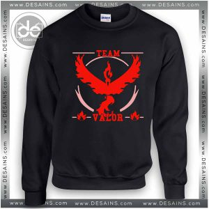 Sweatshirt Pokemon Go Team Valor Sweater Womens and Sweater Mens