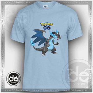 Tshirt Pokemon XY Mega Charizard Tshirt Kids Children and Adult Tshirt