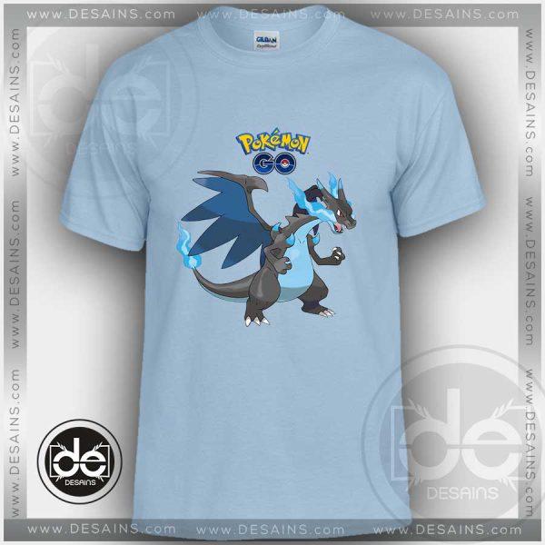 Tshirt Pokemon XY Mega Charizard Tshirt Kids Children and Adult Tshirt