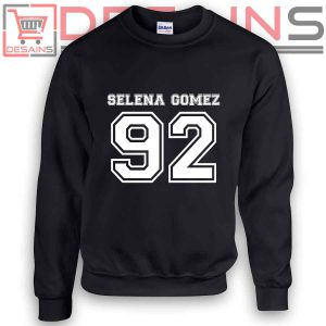Buy Sweatshirt Selena Gomez 92 Sweater Womens and Sweater Mens