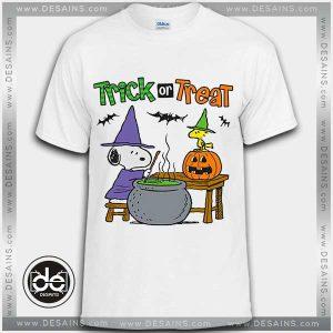 Buy Tshirt Snoopy Halloween Trick or Threat Tshirt mens Tshirt womens