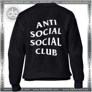 Sweatshirt Anti Social Social Club Sweater Womens and Sweater Mens
