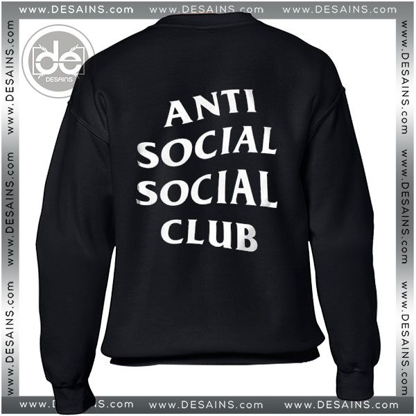 5f1d6f5cd661 Sweatshirt Anti Social Social Club Sweater Womens and Sweater Mens
