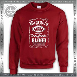 Sweatshirt Blood Dracula Daniels Sweater Womens and Sweater Mens