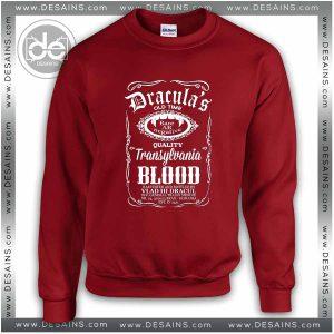 Sweatshirt Blood Dracula Daniels Sweater Womens and Sweater Mens