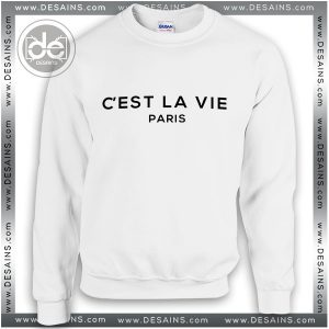 Buy Sweatshirt Chest La Vie Paris Sweater Womens and Sweater Mens