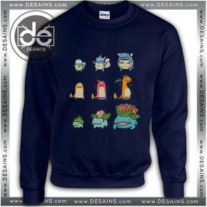 Buy Sweatshirt Evolution Pokemon Sweater Womens and Sweater Mens