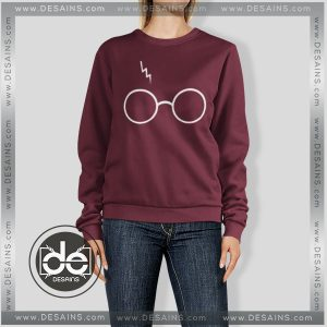 Buy Sweatshirt Harry Potter Glasses Sweater Womens and Sweater Mens