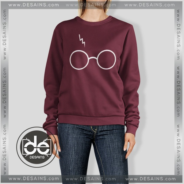 Buy Sweatshirt Harry Potter Glasses Sweater Womens and Sweater Mens