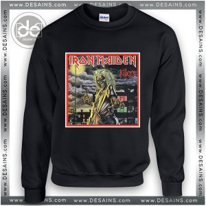 Sweatshirt Iron Maiden Killers Cover Sweater Womens and Sweater Mens