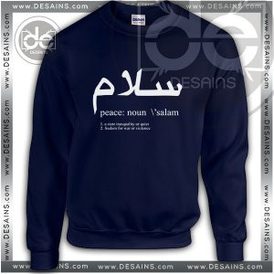 Buy Sweatshirt Peace Definition Sweater Womens and Sweater Mens