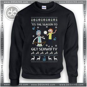 Buy Sweatshirt Rick & Morty Get Schwifty Sweatshirt Womens and Mens